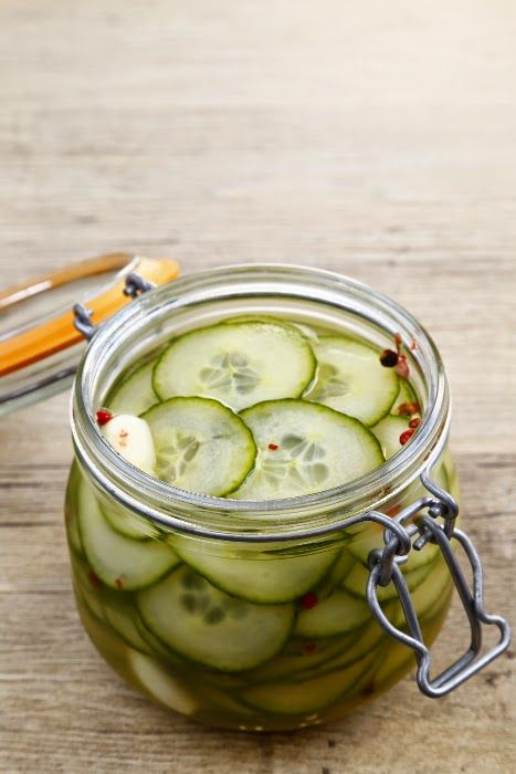 Food Moods - Healthy, wholesome seasonal cooking: Easy Pickled Cucumber