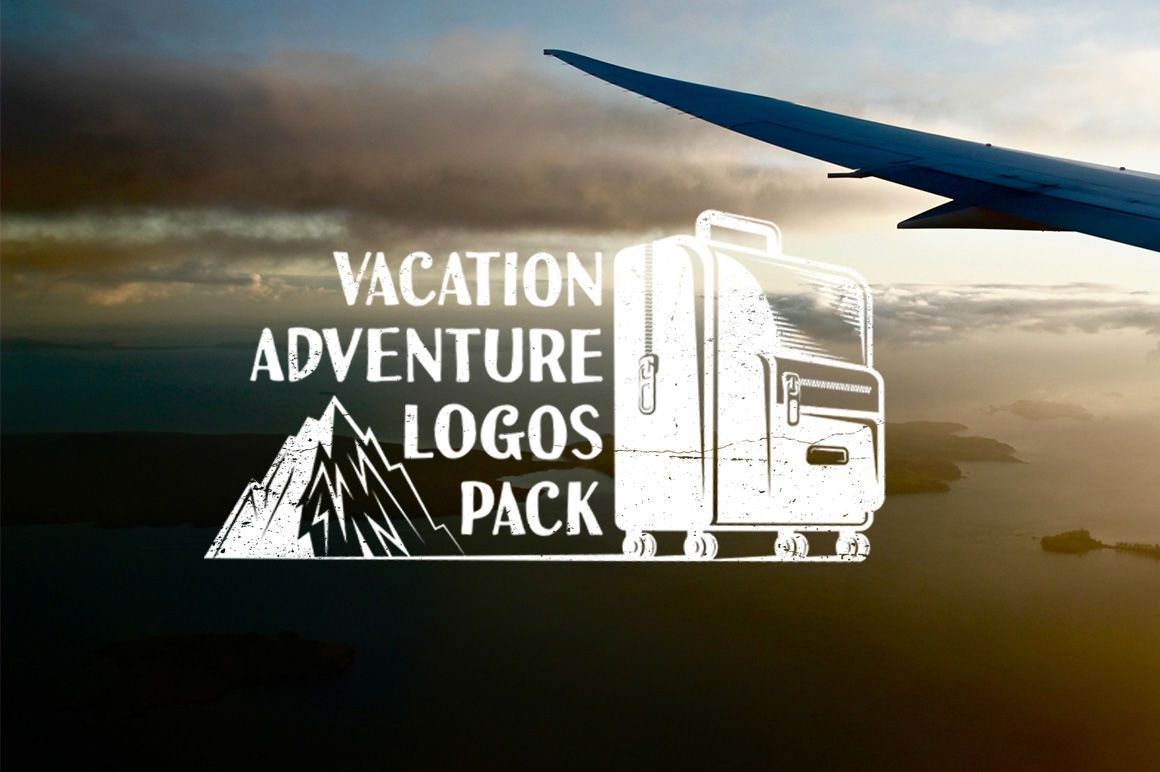 , Vacation Adventure Travel logo By Agor2012  TheHungryJPEG.com #Travel, #spon, #Adventure, #Vacation,, Travel Couple, Travel Couple
