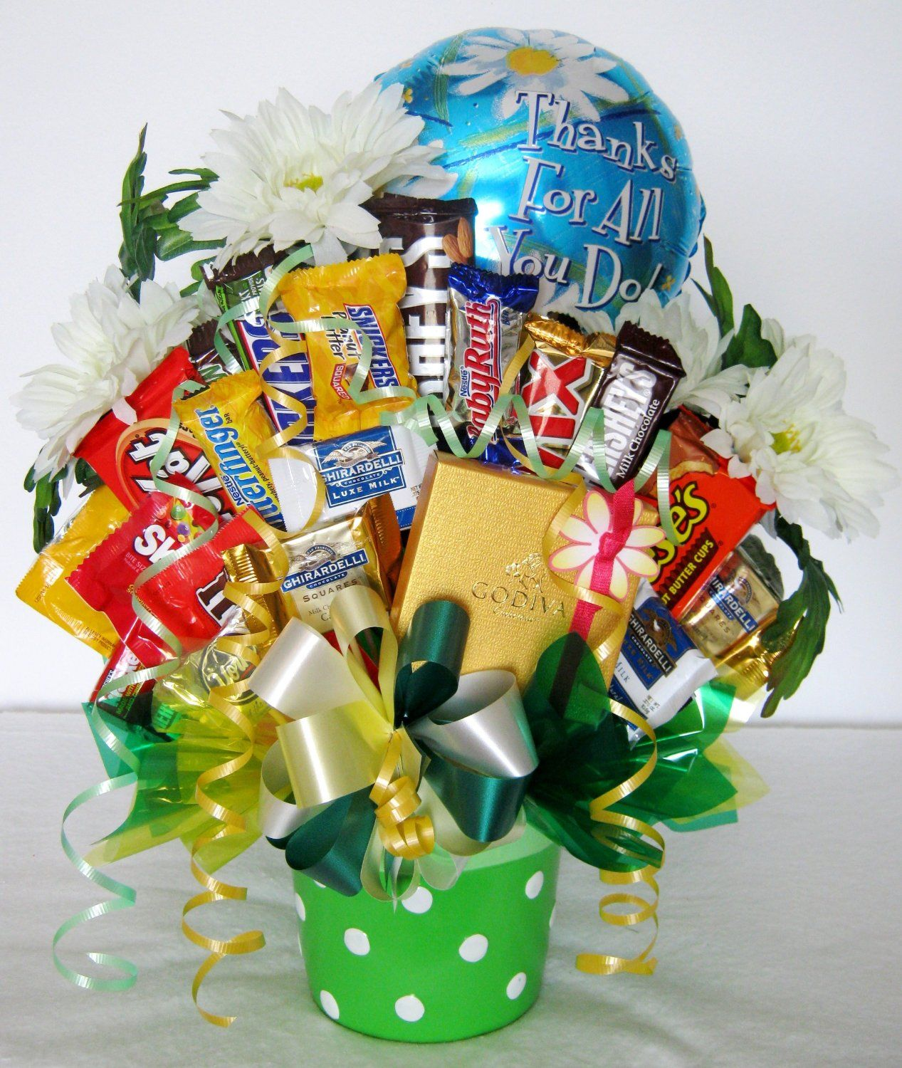 Administrative professionals day candy bouquet