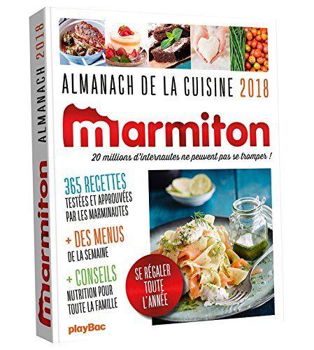 Le Livre Almanach 2018 Marmiton 2809659168 Les Livres Play