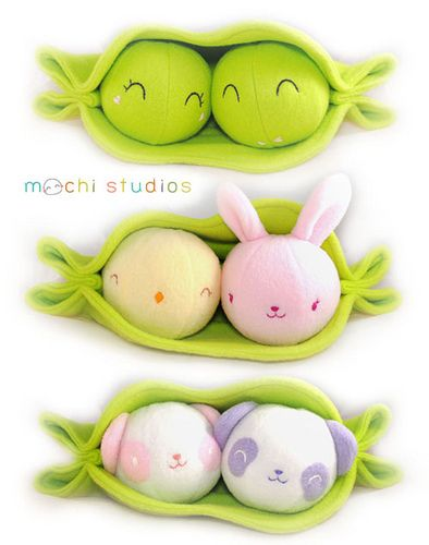 Mochi Studios presents kawaii alternatives to being just 'peas in a pod'   Blog   GirlyBubble