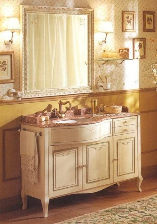 Badezimmermöbel Antik Badezimmermöbel holz, Beton