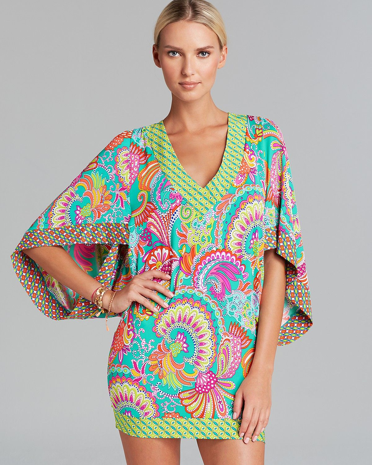 38dc3fe63e61b Pattern mixing perfection by Trina Turk. | sweet summertime ...