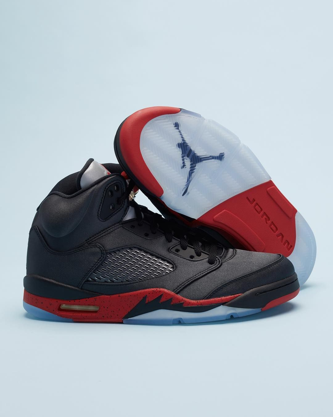 31e5cc49 The Satin Bred Jordan 5 is coming soon. Tap the photo to secure your pair  today.