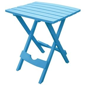PATIO FOLDING TABLE (BLUE)