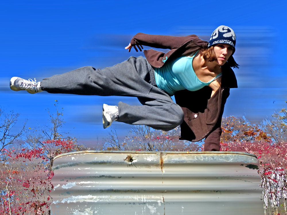 [speed vault] What Parkour Means to Me as a Woman ...