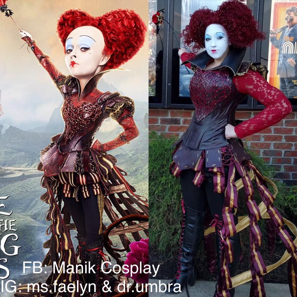 Pin By Ursula Payano On Halloween H2o Queen Of Hearts Costume