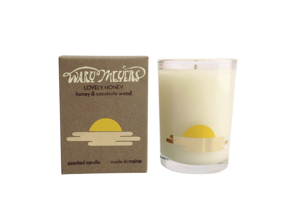 LOVELY, HONEY CANDLE