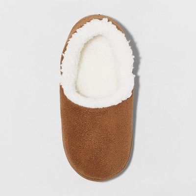 6f3aa535ad55 Toddler Boys  Phillip Sherpa Lined Slipper - Cat   Jack Brown XL(11 ...