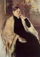 Mrs Robert Cassatt the Artists Mother - Mary Cassatt