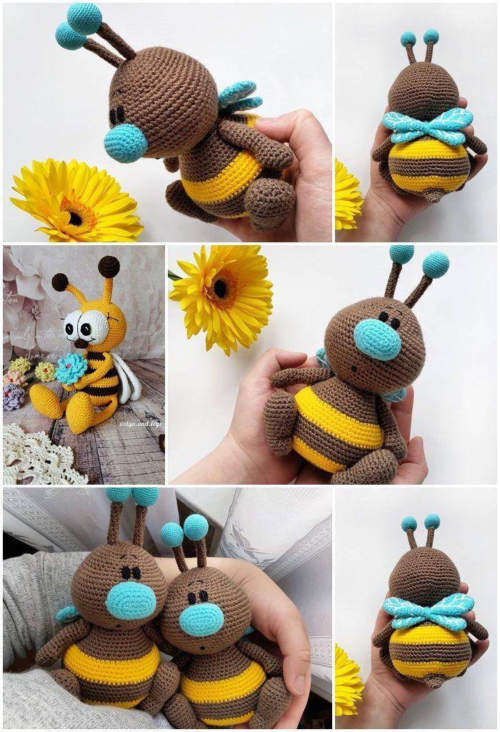 Amigurumi Beste popvrije haakpatronen #crochetdolls