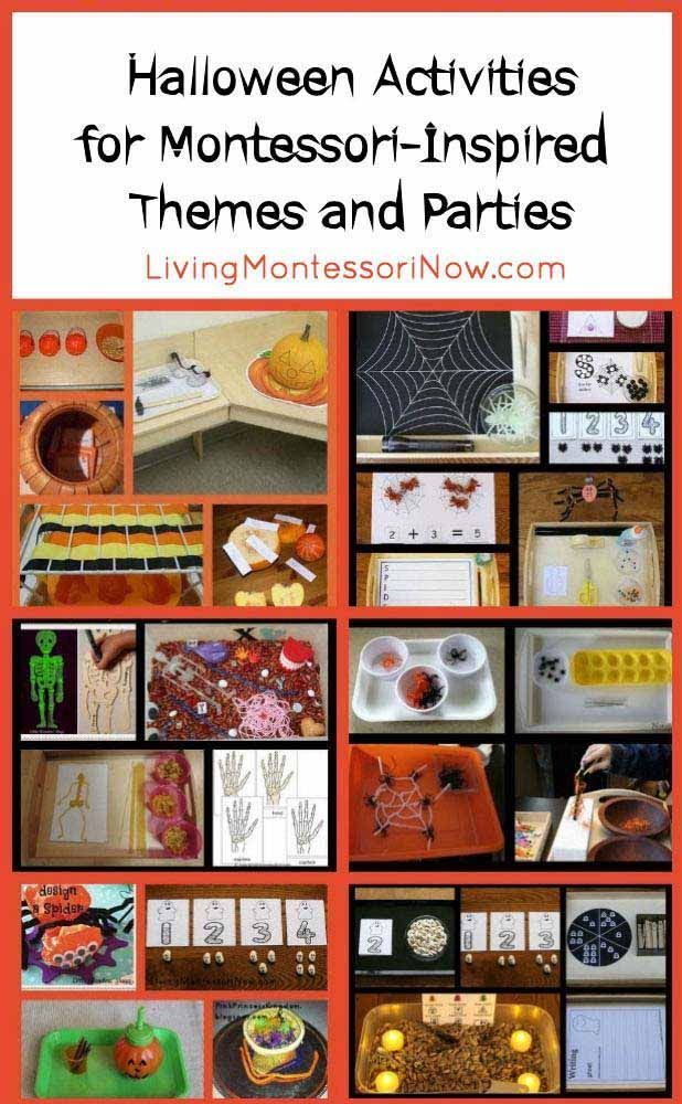Montessori Monday - Halloween Activities for Montessori-Inspired ...