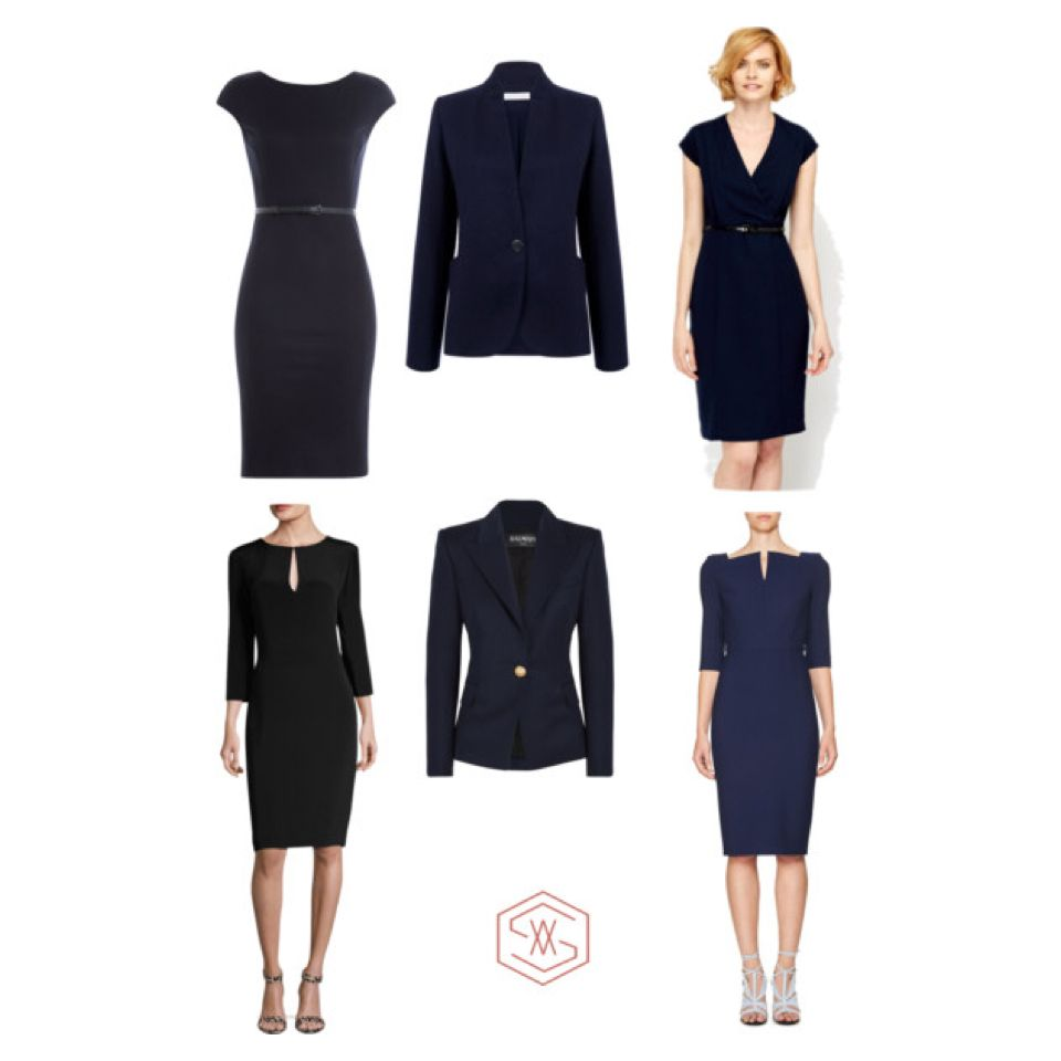 Office Workwear Stylish Corporate Uniform Clothes Design Business Dress Code Business Dresses