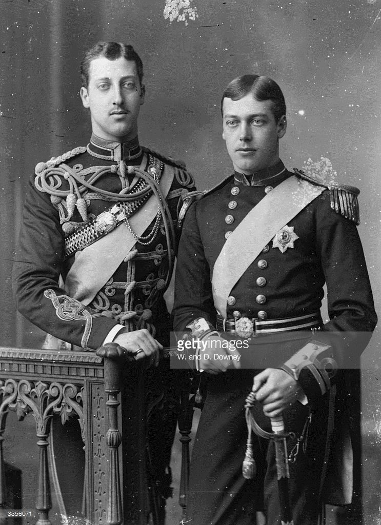 prince albert victor eddy and prince george ages 21 beatrice s wedding in