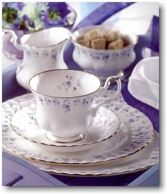 "royal albert china - I think this is my china pattern, ""memory lane"""