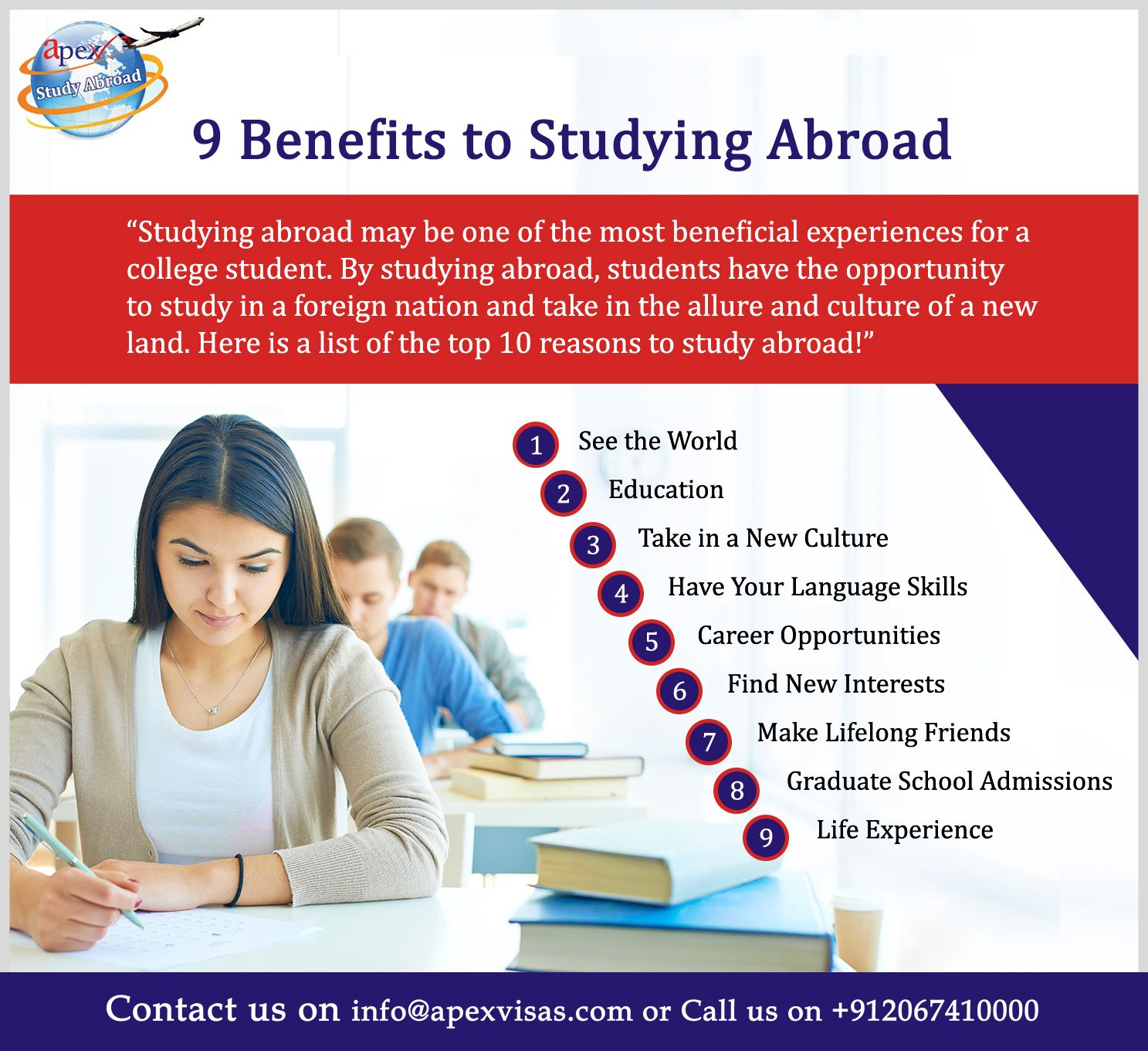 Benefits Of Studying Abroad Study Abroad Counselling Apex Visas