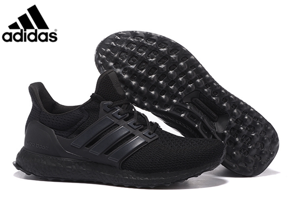 official photos acc09 54982 Men s Adidas Ultra Boost Running Shoes Core Black,Adidas-Ultra Boost Shoes  Sale Online