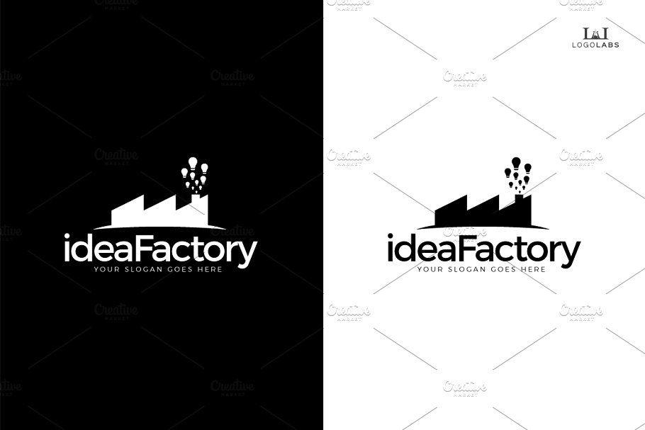 Idea Factory Logo Factory Idea Templates Logo Templates Template Design Logo Design