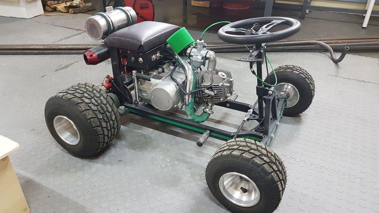 Bierkiste V Rossii Mini Bike Beer Cart Go Kart