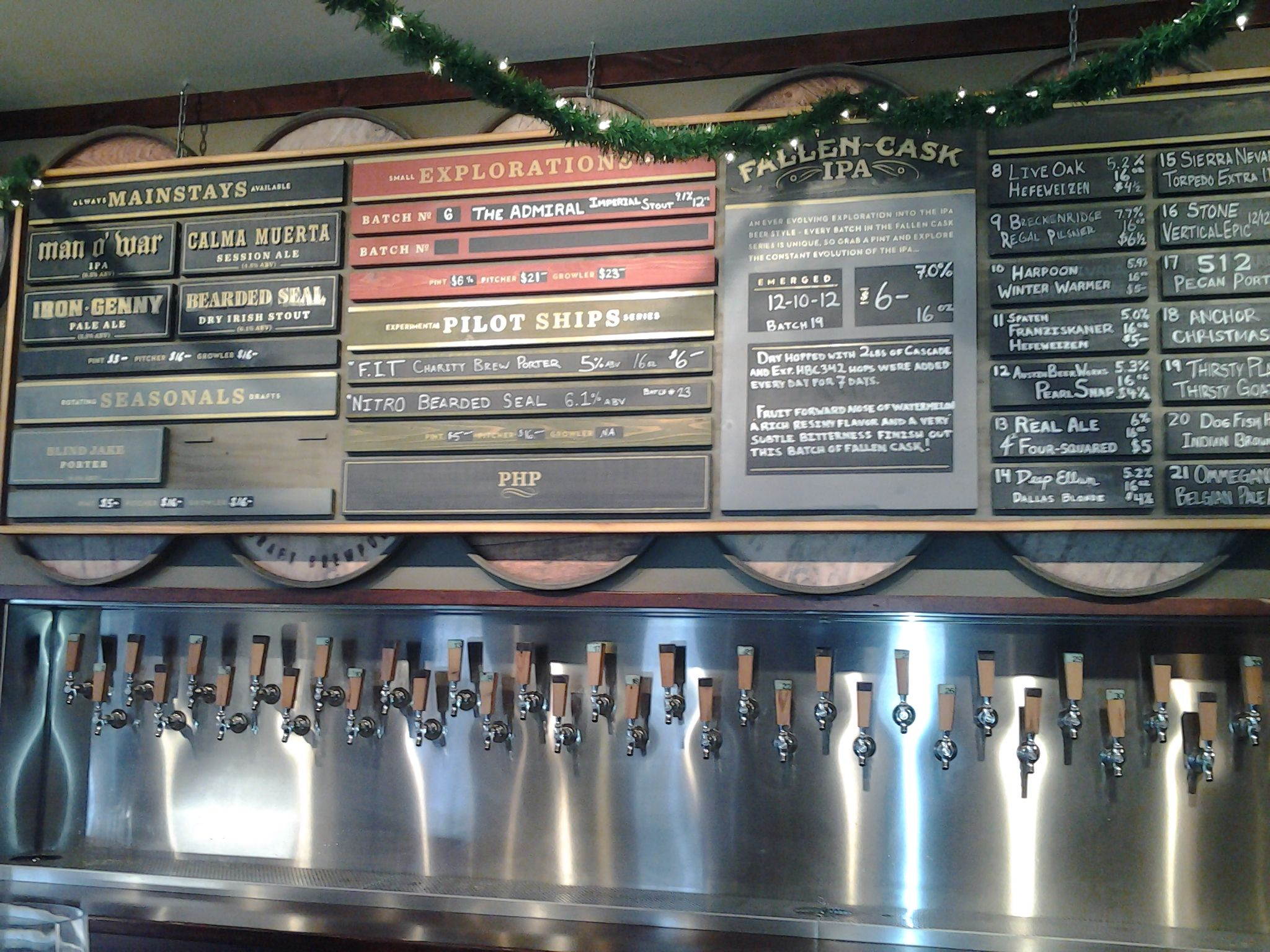 Moderne Gastronomie Sch Rzen Led Tail Light Wiring Diagram Beer Menu Board Old School Signage Design Interiors And