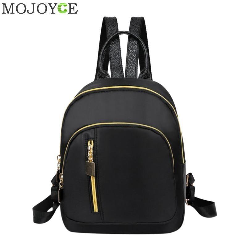Women Girl Mini Backpack Purse Nylon Small Backpack Shoulder Rucksack Travel Bag