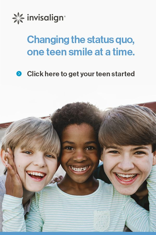 Invisalign Clear Aligners Are The Future Of Teen Teeth