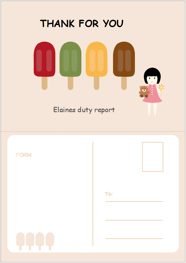 Postkarte Software Postkarten Karten Karten Design