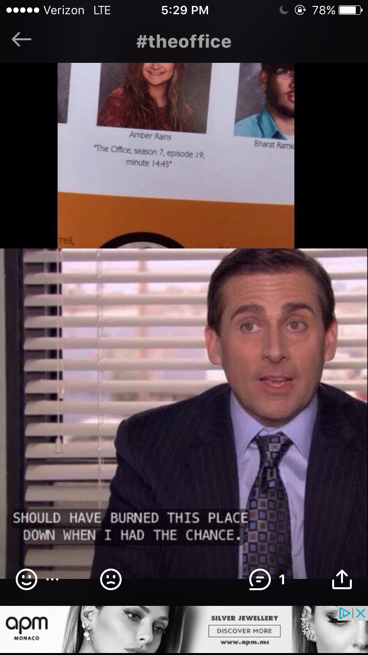 Pin By Izzy W On The Office Senior Quotes Funny Office Jokes