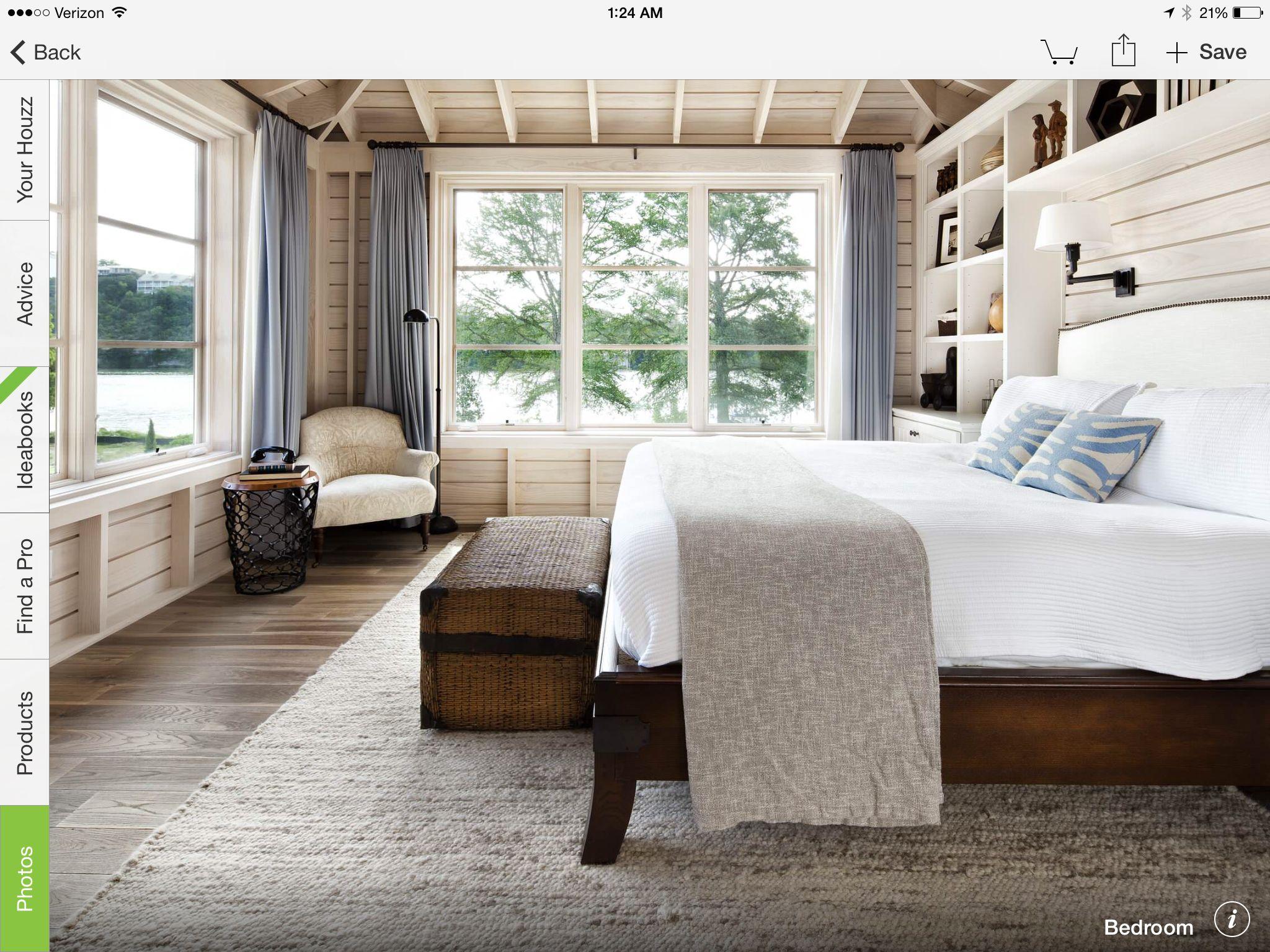 Master bed unit Pinterest