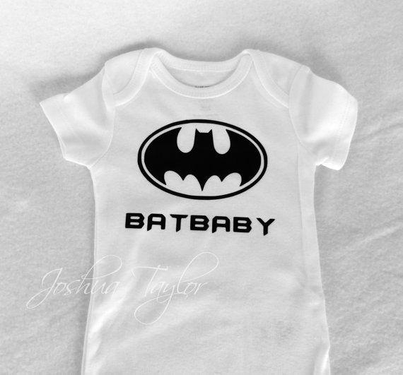 15bb9385 Custom Baby Onesie/ Bodysuit Batman BatBaby Onesie Girl or Boy on Etsy,  $20.00