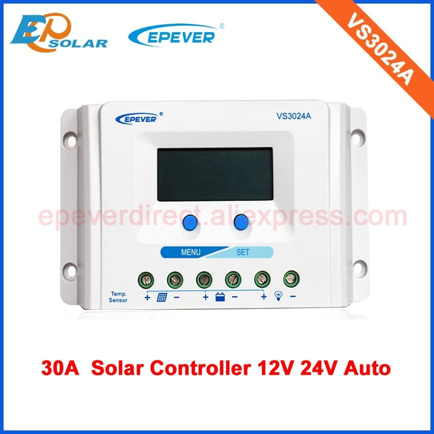 Vs3024a 30a 30amp 12v 24v Epsolar Pwm Solar Charging Regulator With Great Price Solar Charging Solar 30a