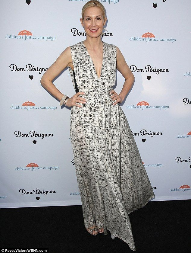 Good cause: Kelly Rutherford was in attendance at an event for her organisation. the Child...