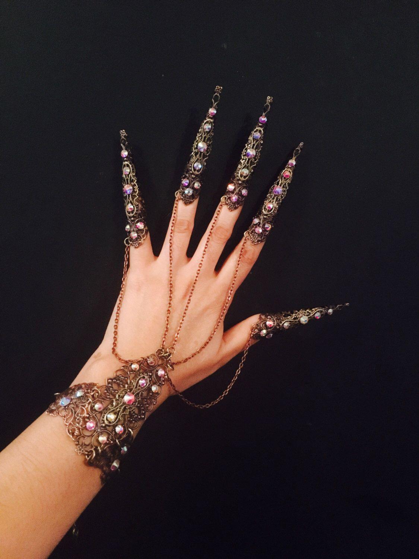 34554dc6ec2 Crystal armor bracelet