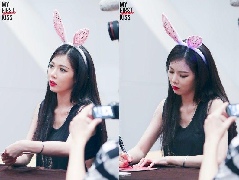 Kim Hyuna at 'A Talk' Ilsan Fansign 2014