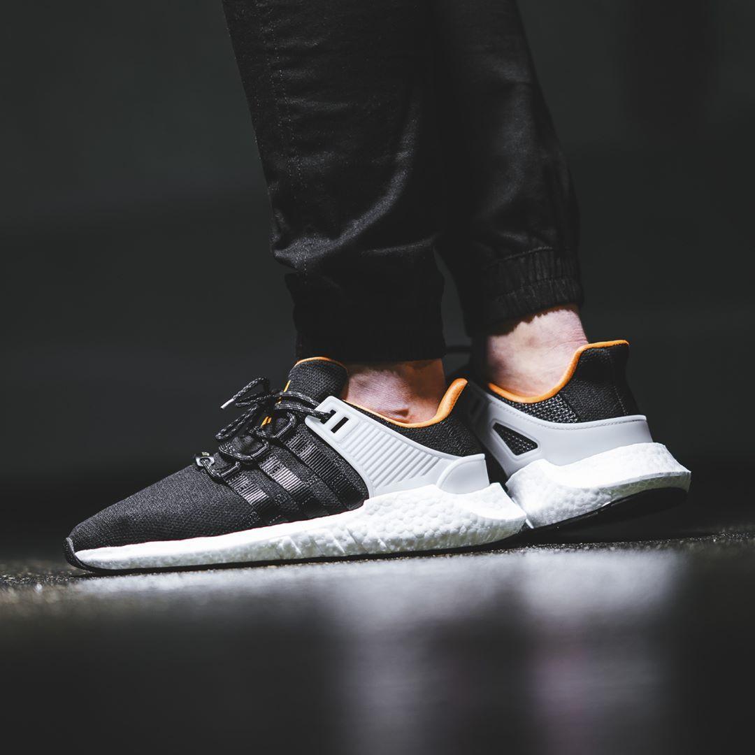Adidas EQT Support 93 / 17 soldadura Pack negro mejores zapatos Pinterest