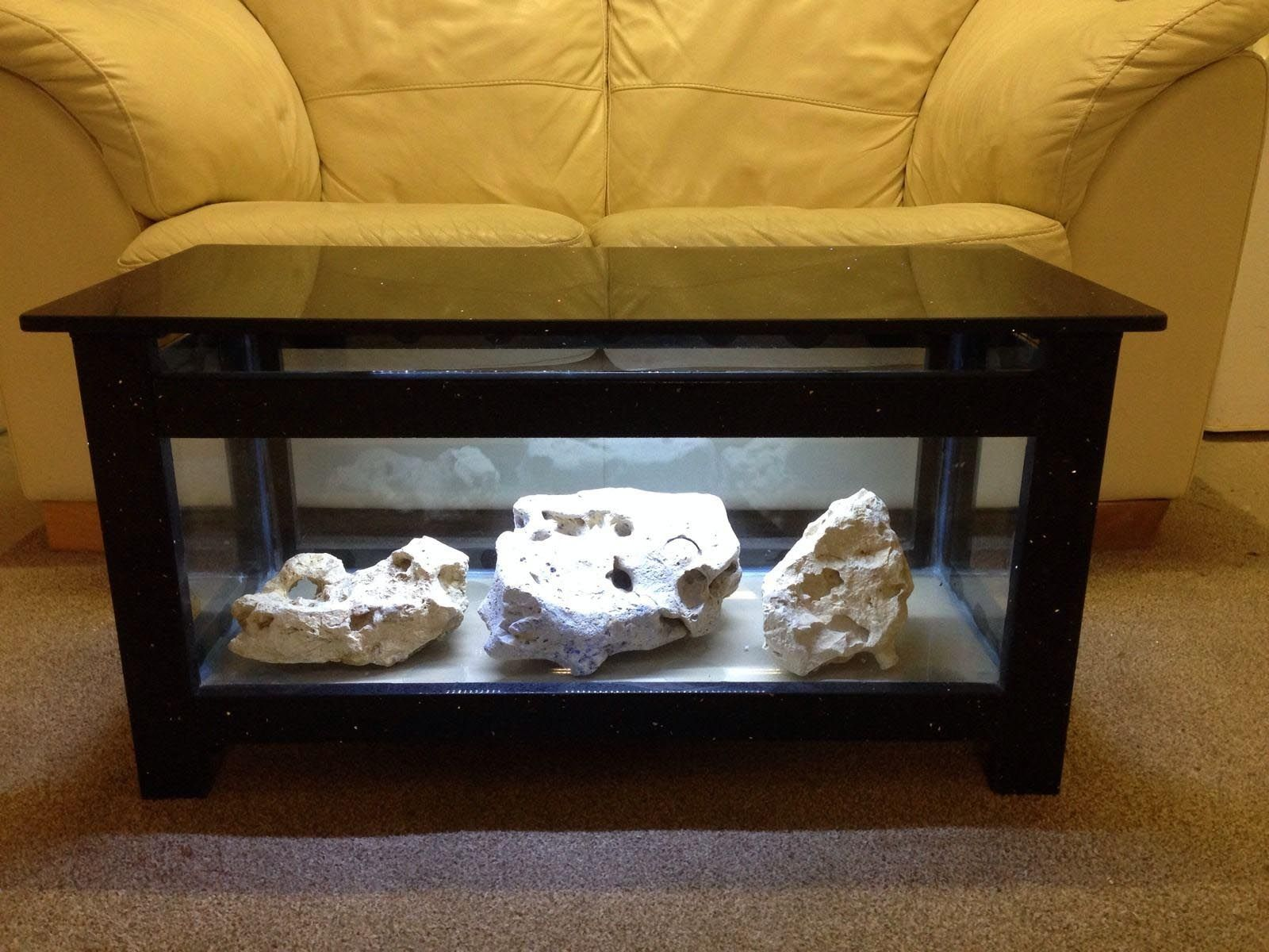 Salt Water Coffee Table Aquarium Fish Tank Coffee Table Aquarium Coffee Table Coffee Table Design