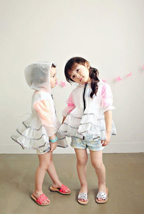 Regenjasjes voor prinsessen - Jujubunnyshop