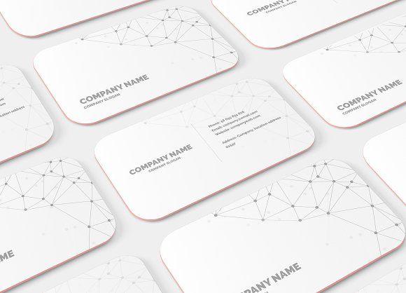 Rounded corner business card mockup mockup business cards and rounded corner business card mockup flashek Images