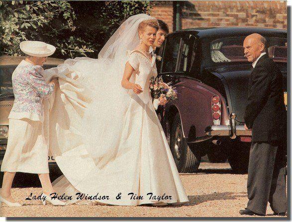 9fc3e2a71d9fd Wedding Dress - Lady Helen Windsor _ Miss Taylor | World Royal ...
