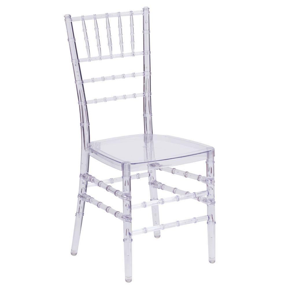 Flash Elegance Crystal Ice Stacking Chiavari Chair In 2020 Flash Furniture Chiavari Chairs Clear Chairs