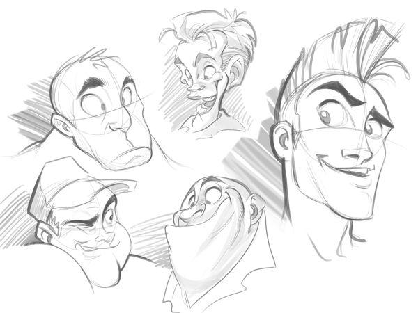 Tutorial Para Dibujar Rostros De Caricaturas Dibujar Rostros Aprender A Dibujar Caricaturas Dibujar Caricaturas