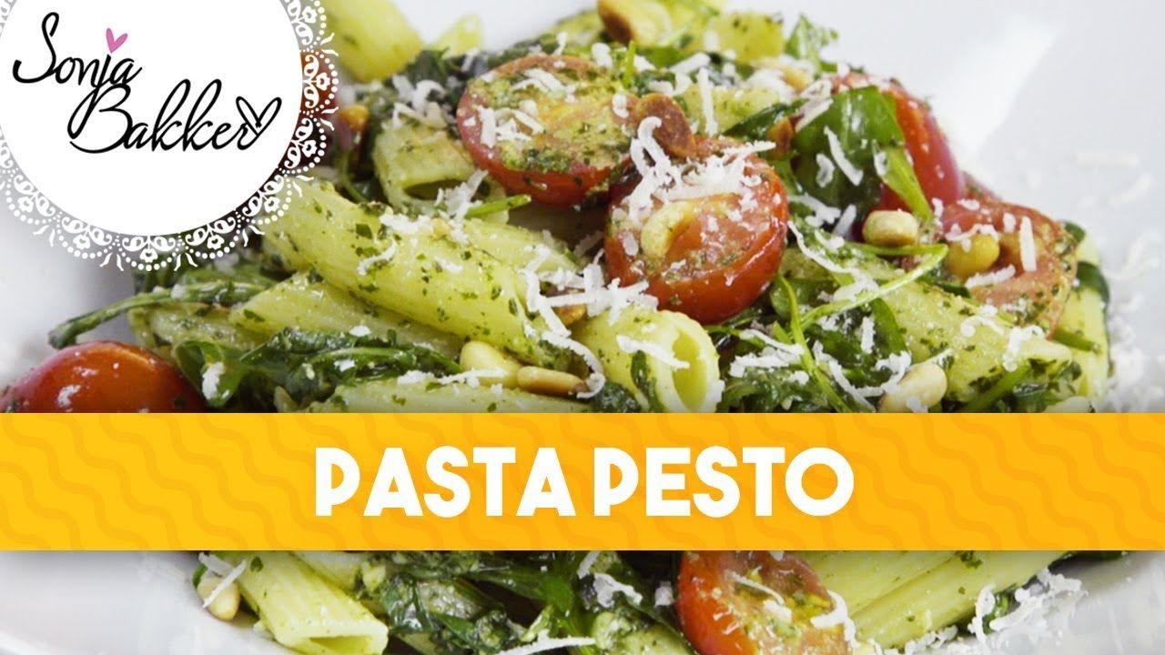 PASTA PESTO | Sonja Bakker recept