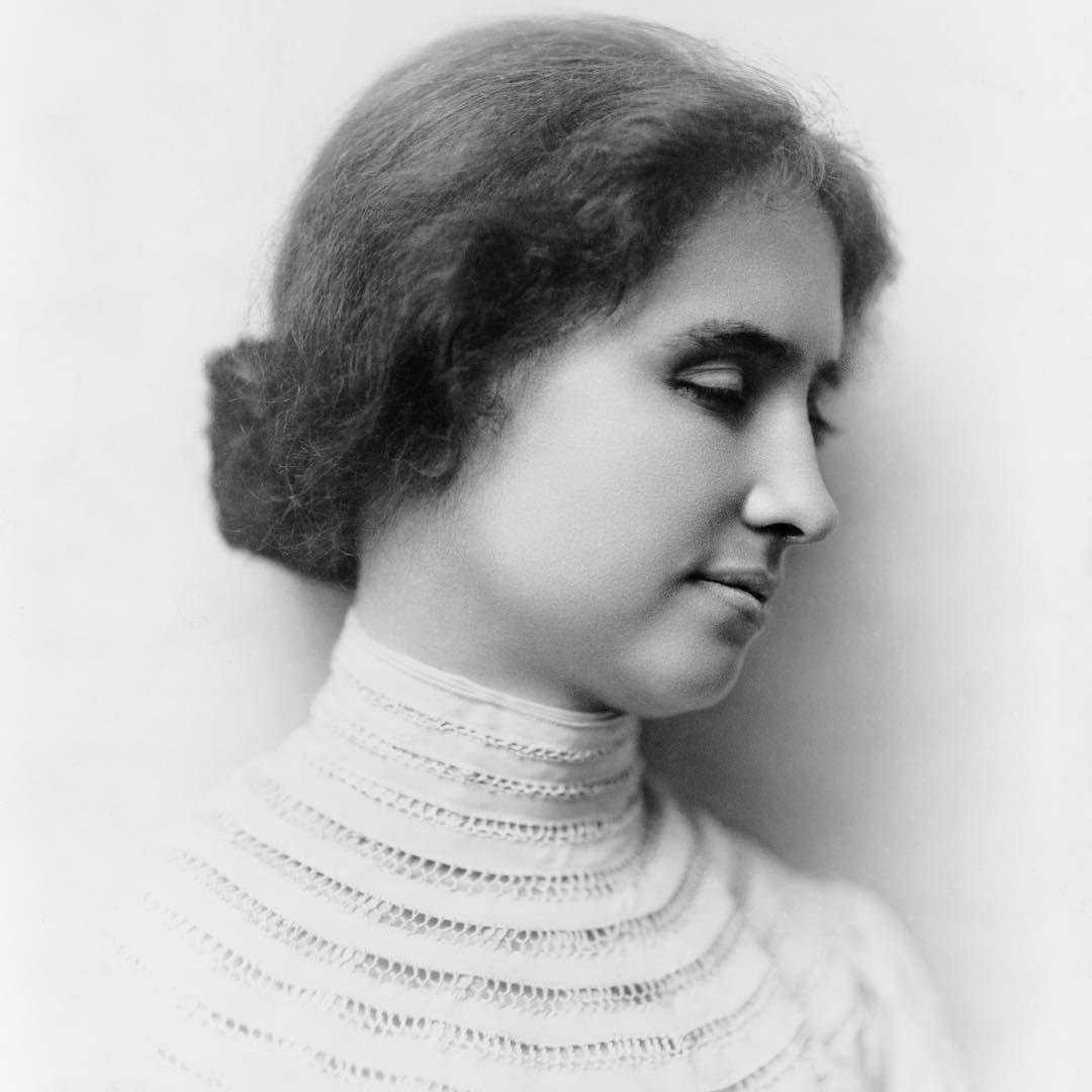 History Only Histortic Posts On Instagram Helen Keller