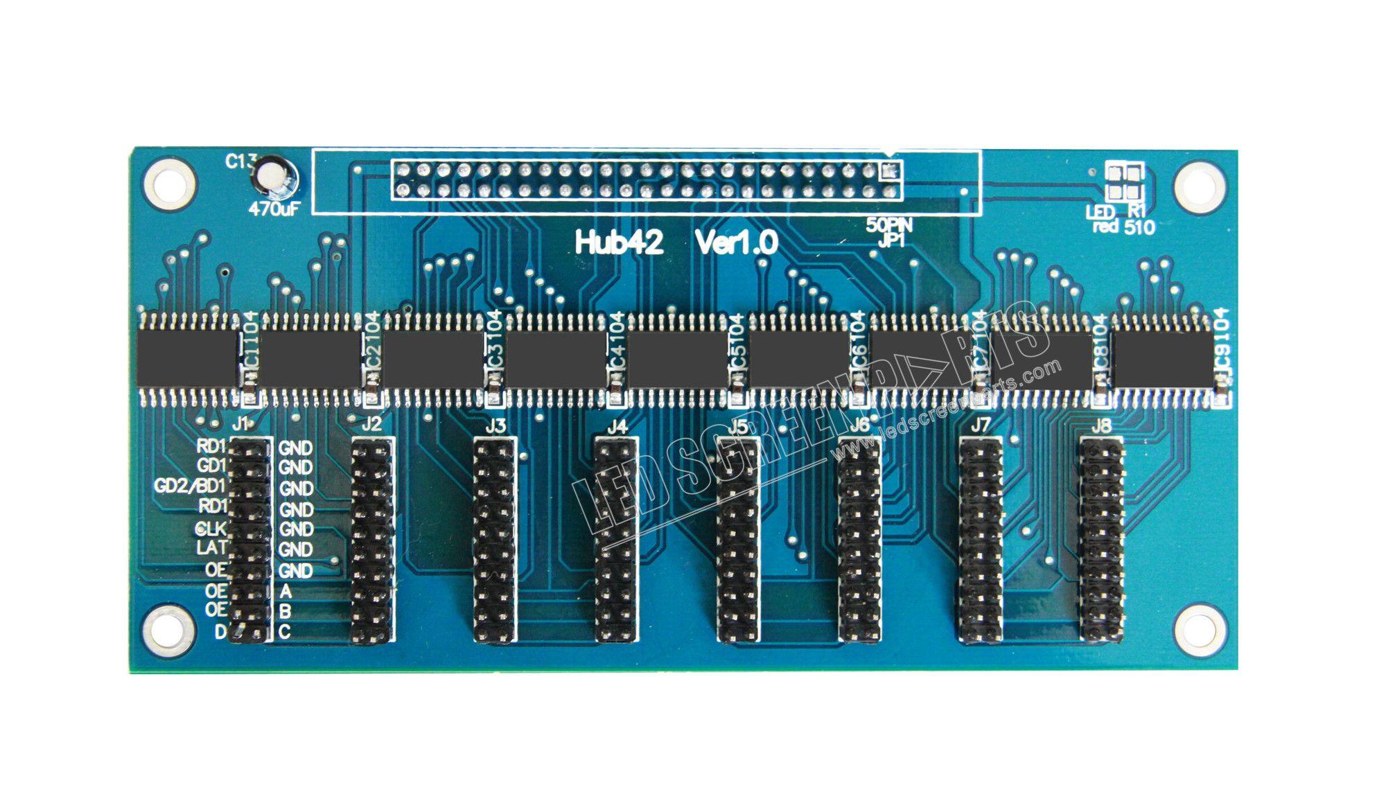 LED hub card #HUB42   #Coloright