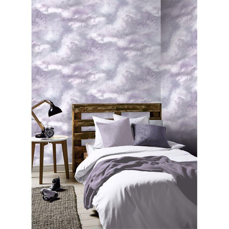 Arthouse Diamond Galaxy Wallpaper Lilac At Homebase Co Uk Home Art Wallpaper Uk Glitter Wallpaper