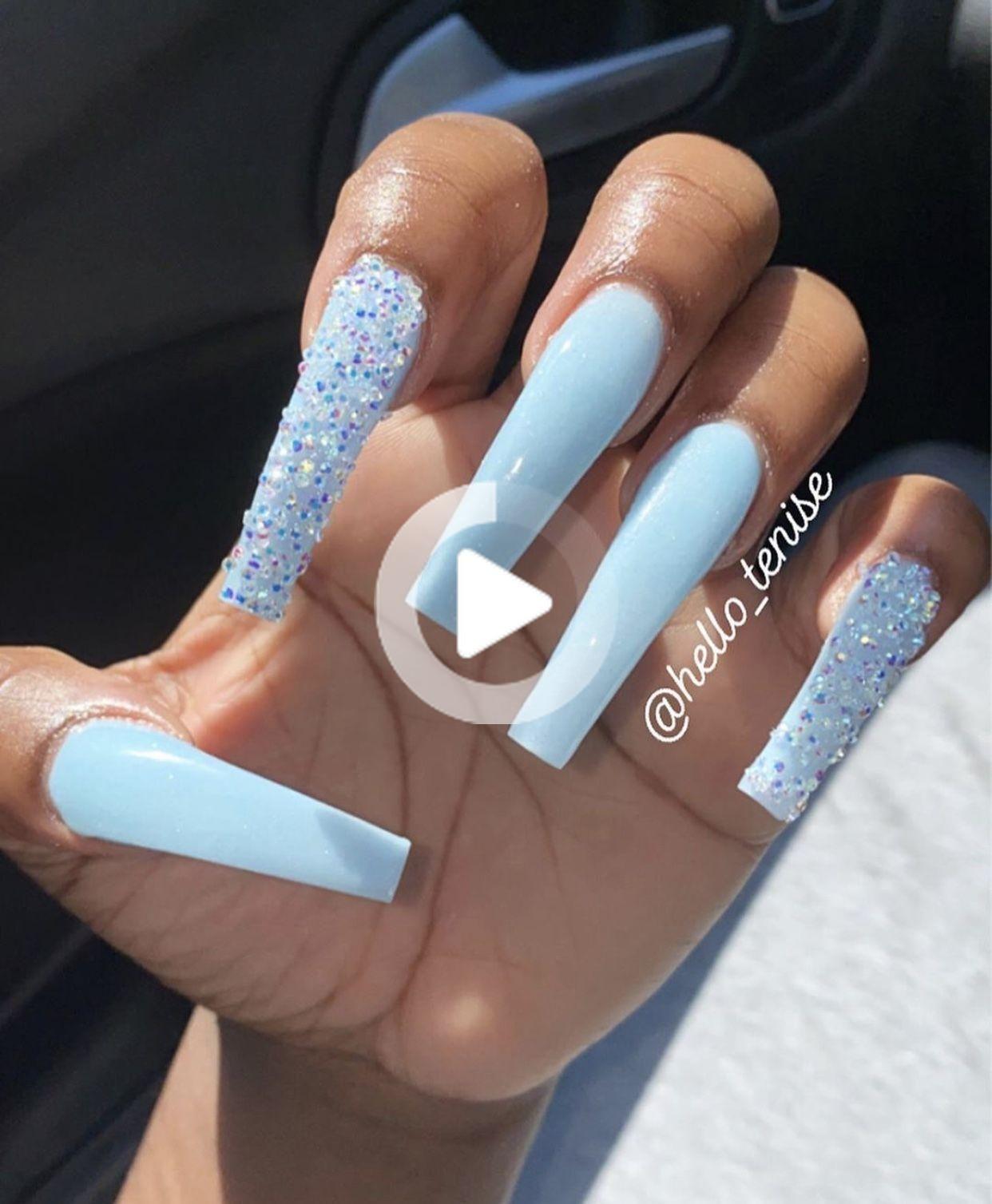 Pin on Acrylics   Long acrylic nail designs, Summer acrylic nails ...