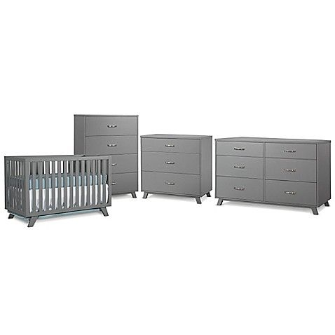 Image Of Child Craft™ SOHO Nursery Furniture Collection In Grey