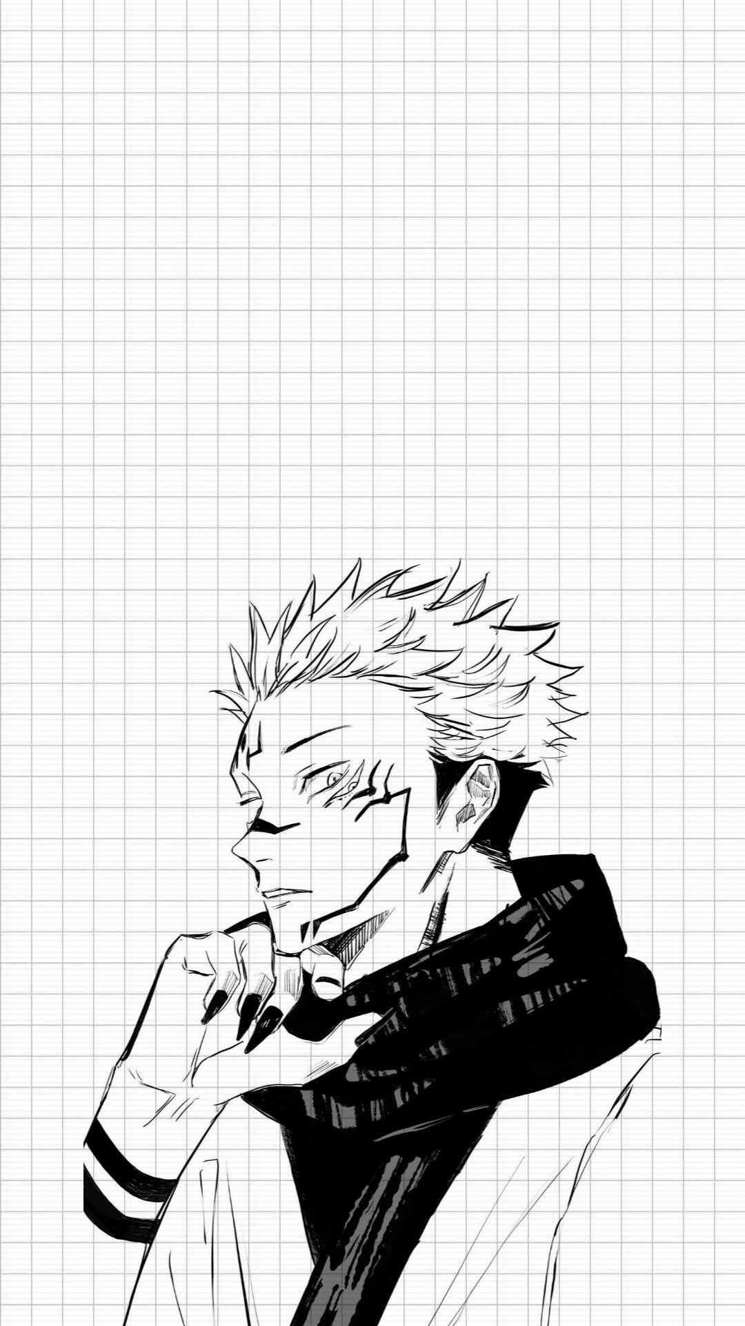 Sukuna Lockscreen Jujutsu Kaisen In 2021 Anime Wallpaper Anime Wallpaper