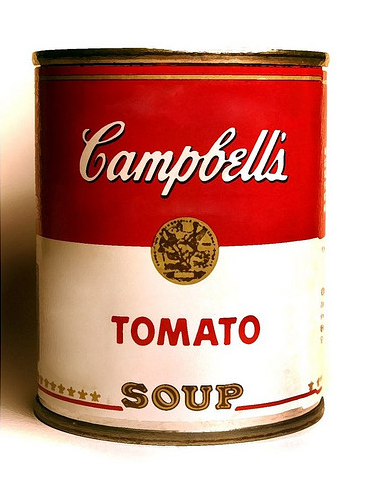 Campbell S Tomato Soup Can Campbell S Soup Cans Campbell Soup Campbells