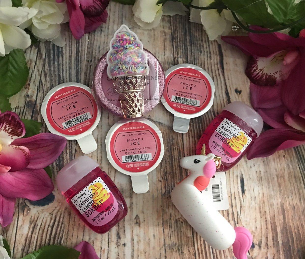 Bath And Body Works Ice Cream Dream Pocketvac Hand Sanitizer From